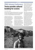 ITMA Autumn Conference: Treviso provides cultured backdrop for ... - Page 7