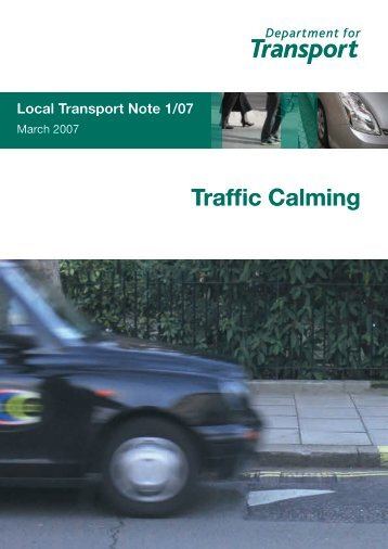 Traffic Calming - Department for Transport