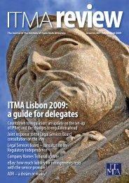 ITMA Lisbon 2009: a guide for delegates