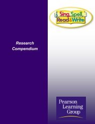SSRW Compendium - Pearson