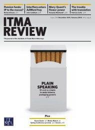 pLAIn SpEAKIng - ITMA
