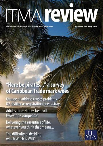 """Here be pirates..."" a survey of Caribbean trade mark woes - ITMA"