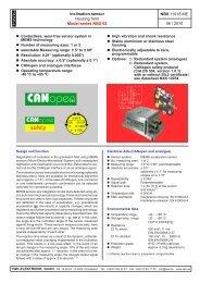 Model series NBX 65 - Housing form - TWK-ELEKTRONIK GmbH