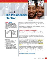 The Presidential Election - Pearson