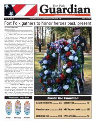 Fort Polk gathers to honor heroes past, present - Amazon Web ...