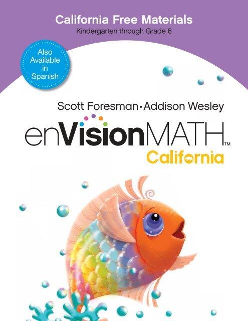 California Free Materials - Pearson
