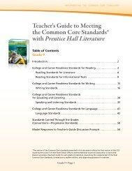 Prentice Hall Literature - Pearson
