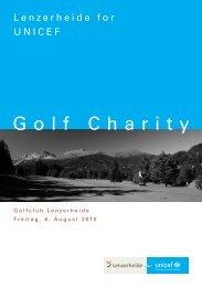 Golf Charity - Unicef