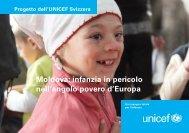 Moldova: infanzia in pericolo nell'angolo povero d'Europa - Unicef