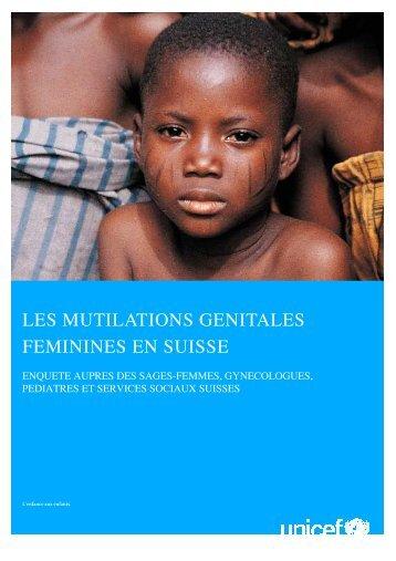 Les mutilations génitales féminines en Suisse - Intact Network