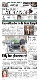 Maxton Chamber hosts dinner tonight - Matchbin