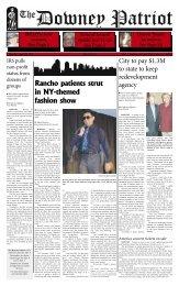 Rancho patients strut in NY-themed fashion show - Amazon Web ...