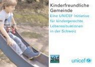 Broschüre UNICEF kinderfreundliche Gemeinde