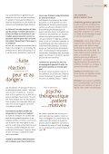 Apprendre à vivre avec la peur de la peur Des ... - Depression.ch - Page 7