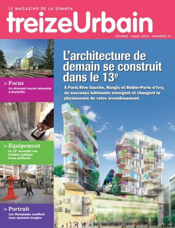 L'architecture de demain se construit dans le 13e L'architecture de ...