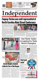 Fuquay-Varina was well represented at North Carolina ... - Matchbin