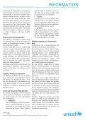 INFORMATION Kindheit auf der Strasse - Unicef - Page 2
