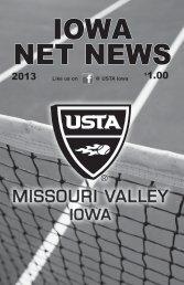 2013 Iowa Net News - USTA.com