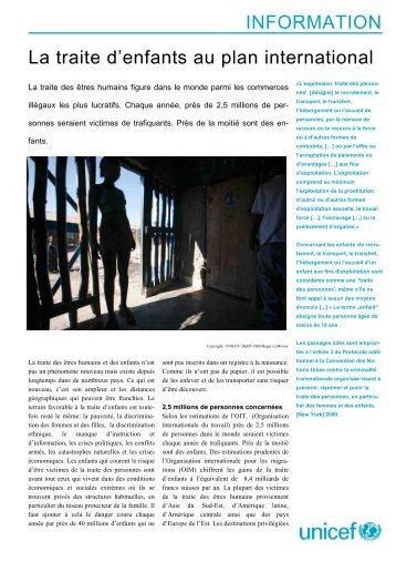 FSheet_KH_weltweit_de_ohne_Bild fr - Unicef