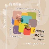 Plaquette 2012-2013.indd - Centre social Albert JACQUARD ...