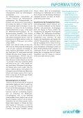 INFORMATION Wasser – Quelle des Lebens - Unicef - Page 3