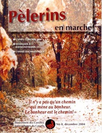Hommage à un pèlerin - Mouvement des Cursillos Francophones