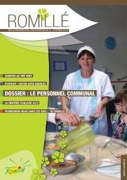 DOSSIER : LE PERSONNEL COMMUNAL - Ville de Romillé