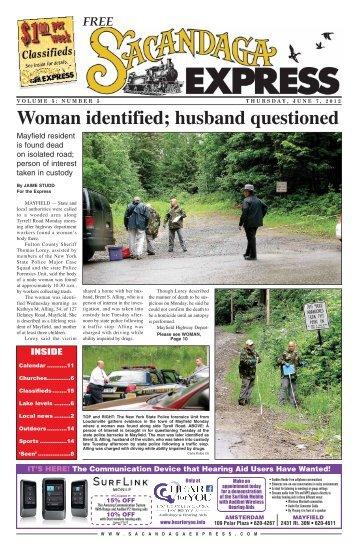 Woman identified; husband questioned - MediaSpan