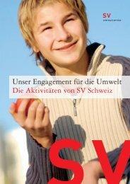Umweltbericht 2005 (PDF) - SV (Schweiz)