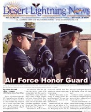 Air Force Honor Guard - Aerotech News and Review