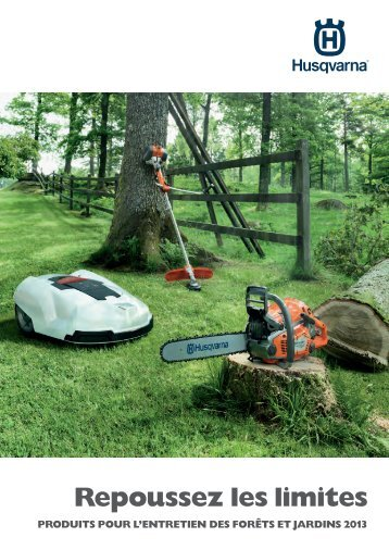 View our latest product brochure - Husqvarna