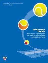 Manual para el participante del taller de entrenamiento ... - USTA.com