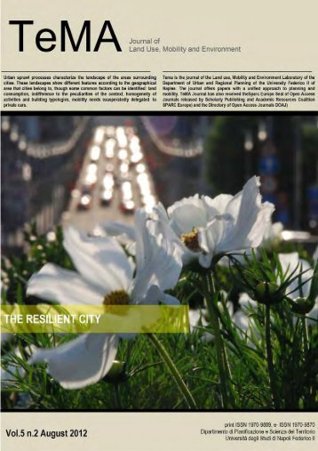 Stampa questo articolo - Tema. Journal of Land Use, Mobility and ...
