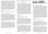 lettura del profeta ezechiele (4, 4-17) la mia voce ... - Ambrogio Villa