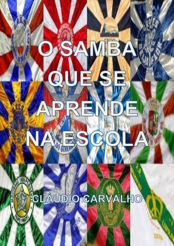 O samba que se aprende na escola - Sambario