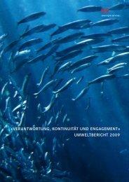 UMWELTBERICHT 2009 - SV (Schweiz)