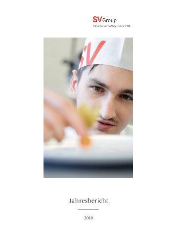 Geschäftsbericht 2010 (PDF) - SV (Schweiz)
