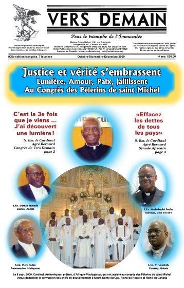 Justice et vérité s'embrassent - Journal Vers Demain