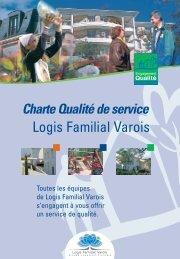 Télécharger la charte qualité de service - Le Logis Familial Varois