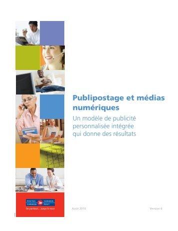 Publipostage et médias numériques - Postes Canada