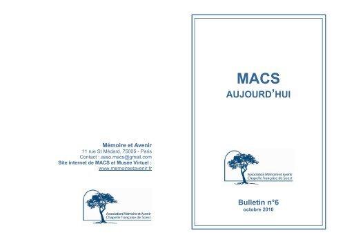 Télécharger le document PDF - Association Mémoire et Avenir