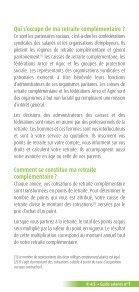 Livret du salarié - Agirc et Arrco - Page 5