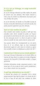 Livret du salarié - Agirc et Arrco - Page 6