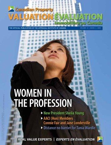 WOMEN IN tHE PrOFESSION WOMEN IN tHE PrOFESSION