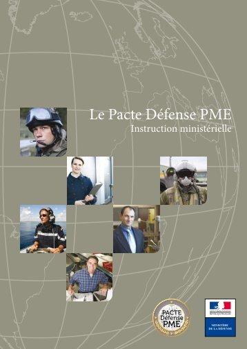 Le Pacte Défense PME - Ministère de la Défense