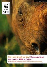 Ein Horn bringt auf dem Schwarzmarkt bis zu einer ... - WWF Schweiz