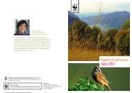 Rapport de parrainage Alpes 2012 - WWF Schweiz