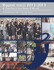 Rapport annuel 2012-2013 - Association du Jeune Barreau de ...