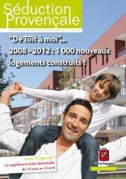 """""""De à moi""""... 2008 - 2012 : 1 000 nouveaux logements construits !"""