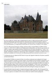 Le CHATEAU De tous les châteaux construits dans le ... - CSA BA110
